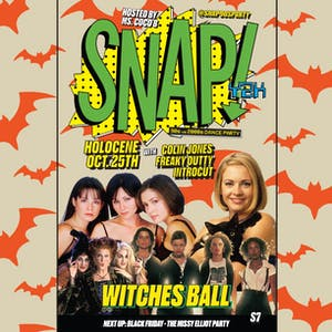 SNAP! Y2K: '90s vs '00s Dance Party - HALLOWEEN WITCHES BALL