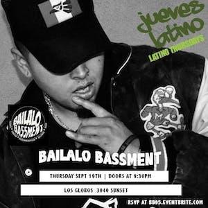 Jueves Latino | Bailalo Bassment