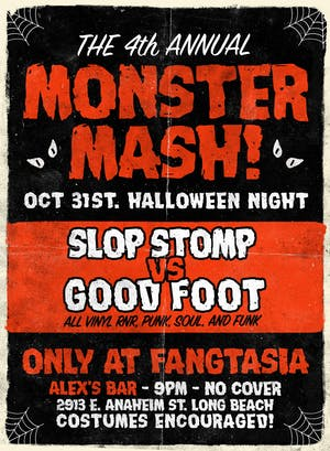 Monster Mash #4 Slop Stomp vs. Good Foot