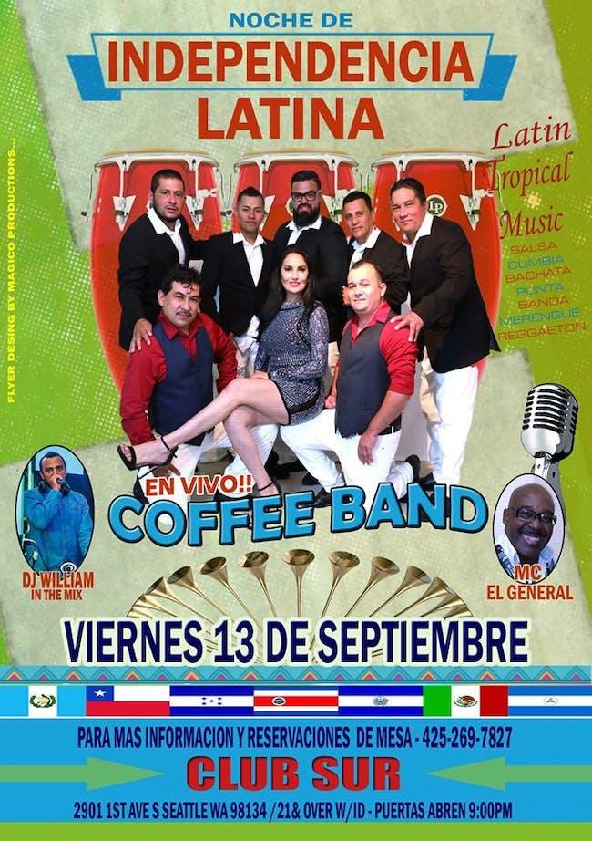 LA COFFEE BAND - Noche de Independencia Latina
