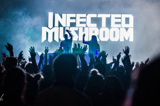 Infected Mushroom w/ Eryn Evans & Warewolf (Brendan Barstow & Alias)