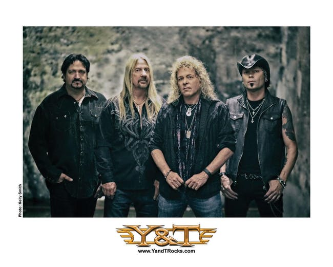 SHOW CANCELED: Y&T