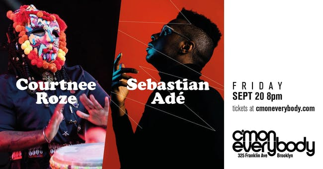 Courtnee Roze and Sebastian Adé
