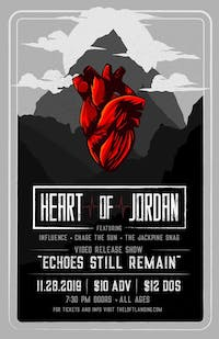 "Heart Of Jordan ""Echoes Still Remain"" Video Release Show"
