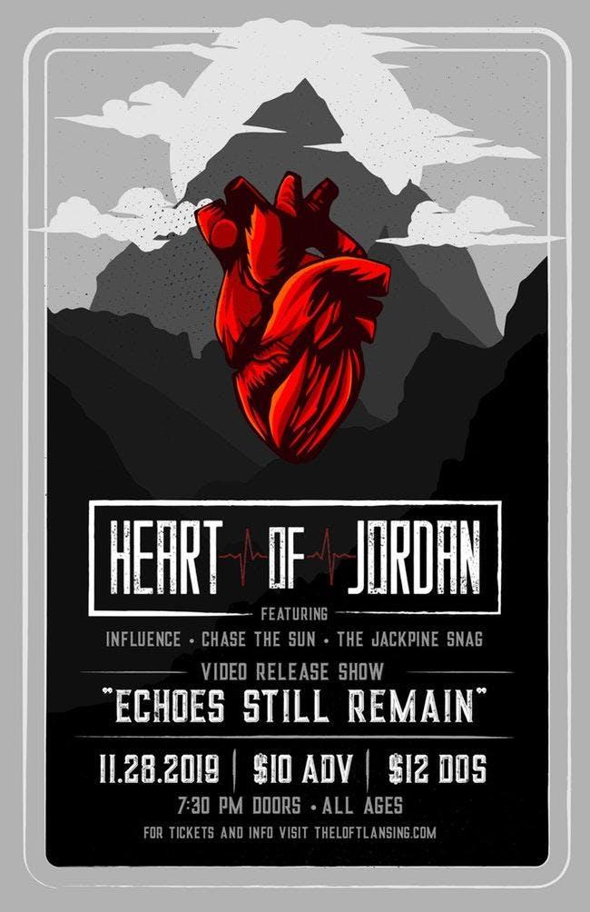 "Heart Of Jordan ""Echoes Still Remain"" Video Release Show"