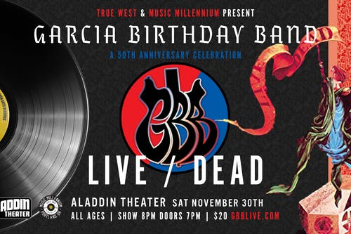 GARCIA BIRTHDAY BAND-A 50TH ANNIVERSARY CELEBRATION-LIVE/DEAD