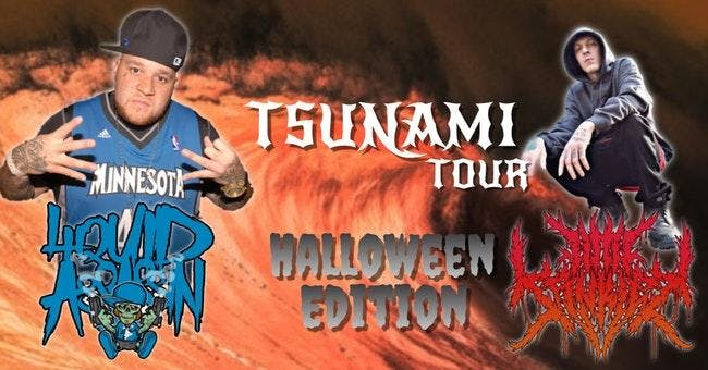 Tsunami Tour Halloween Edition