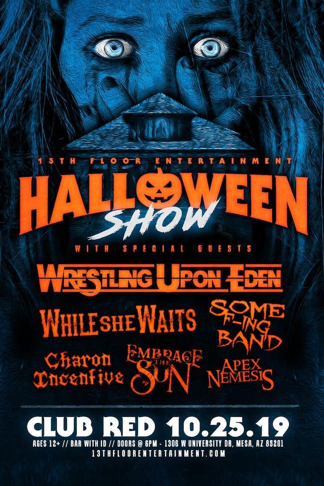Wrestling Upon Eden Halloween Show!