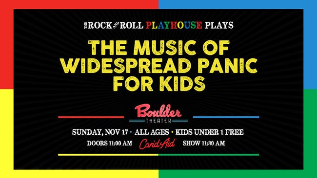 THE MUSIC OF WIDESPREAD PANIC FOR KIDS