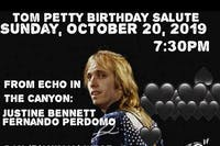 Tom Petty Birthday Salute ft. Justine Bennett & More Benefitting Fair Fight