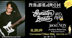RE:Search feat. Sweater Beats w/ jackLNDN, Jordan Polovina