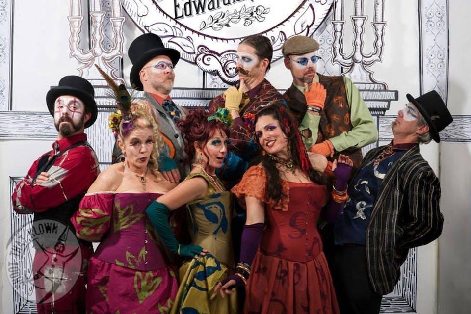 A Gorey Halloween - The Edwardian Ball 20th Anniversary Begins