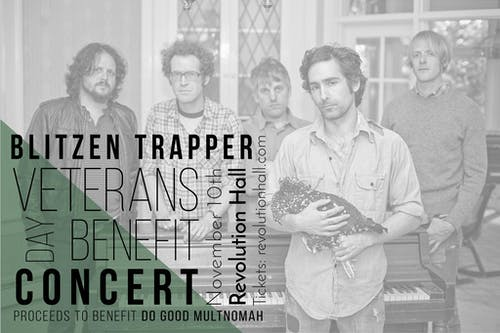 Blitzen Trapper Veterans Day Benefit Concert