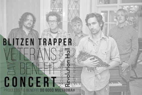Blitzen Trapper Veterans Day Benefit Concert