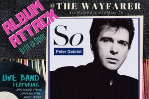 "Album Attack takes on Peter Gabriel ""So"""