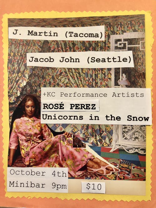 J. MARTIN, JACOB JOHN, Rosé Perez, UNICORNS IN THE SNOW