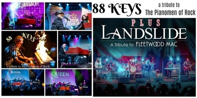 88 KEYS - a tribute to the Pianomen of Rock w/ Landslide - a Fleetwood Mac