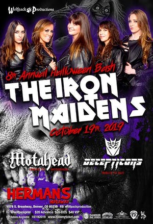 8th Annual Halloween Bash with the Iron Maidens