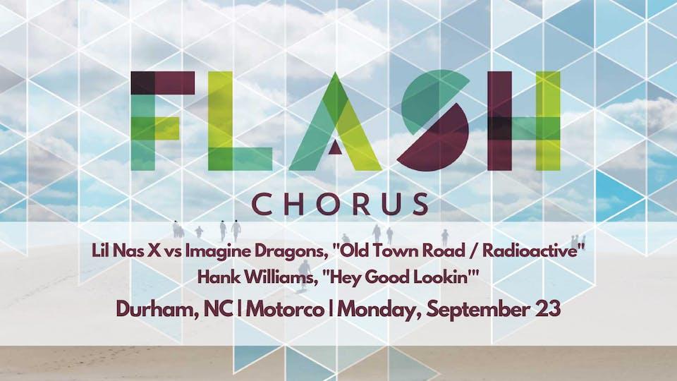 FLASH CHORUS sings Hank Williams, Lil Nas X and Imagine Dragons