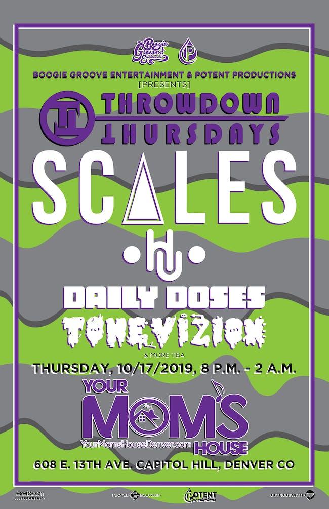 Scales w/ HU // Daily Doses // ToneVizion