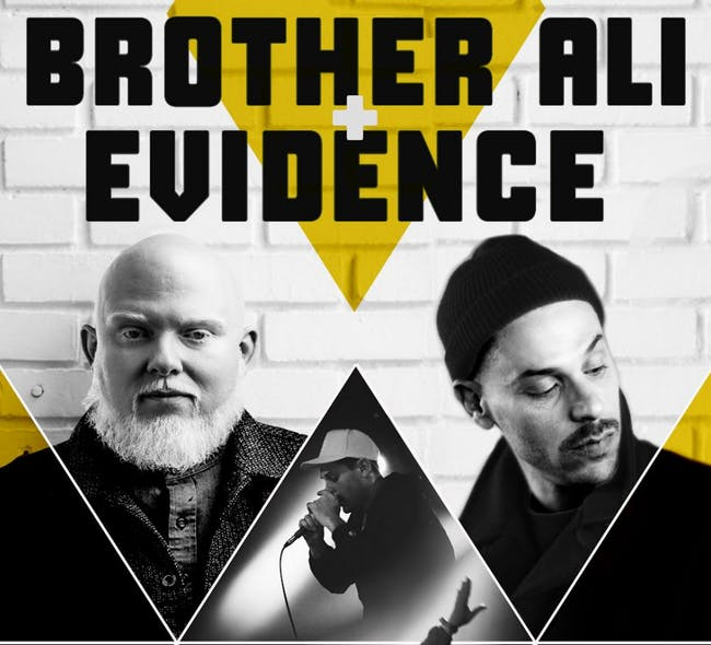 Brother Ali + Evidence Tour