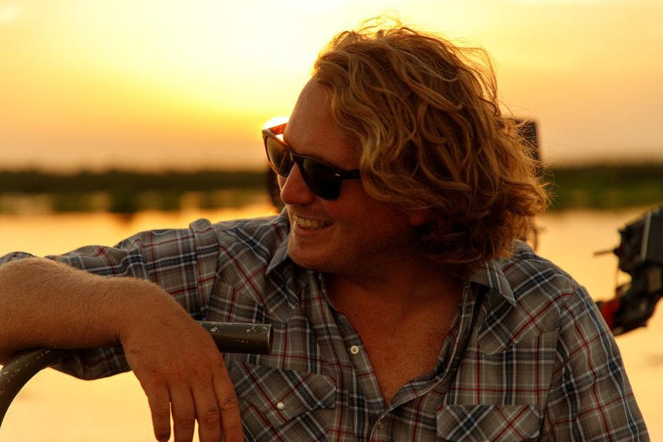 William Clark Green with Southern Fryed