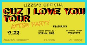 Lizzo's Official 'Cuz I Love You Tour' AFTER PARTY!