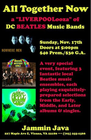 """All Together Now: A """"LIVERPOOLooza"""" of DC Beatles Music Bands"""