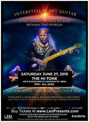 Uli Jon Roth: Interstellar Sky Guitar Tour
