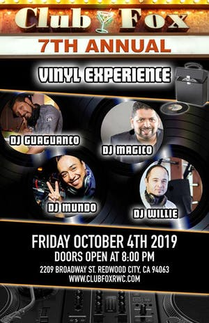 SALSA SPOT - VINYL EXPERIENCE w/DJs Guaguanco, Magico, Mundo & Willie