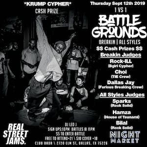 Battlegrounds: Breakin | All Styles