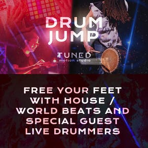 DRUM JUMP :: Dance Party by Tuned Motion Studio