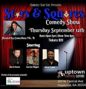 Stars & Squares Comedy Show