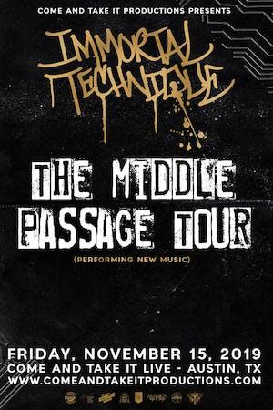 IMMORTAL TECHNIQUE: The Middle Passage Tour