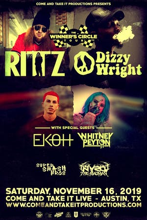 RITTZ / DIZZY WRIGHT: Winner's Circle Tour