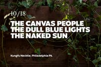 The Canvas People / The Dull Blue Lights / The Naked Sun