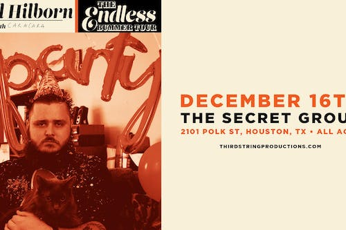 The Endless Bummer Tour featuring Neil Hilborn & Special Guests