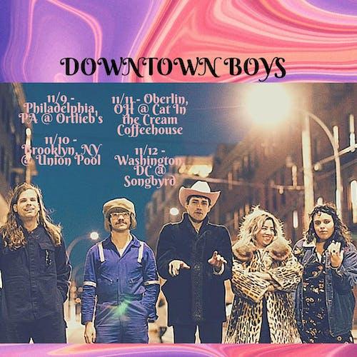 Downtown Boys / Clear Channel / Ghösh
