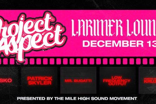 Project Aspect / Kavsko / Patrick Skyler / Low Frequency Output /Mr Bugatti