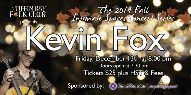 Fall Intimate Concert Series: Kevin Fox