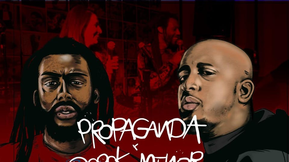The Red Couch Podcast Live with performances by Propaganda & City James