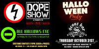 Halloween Party featuring The Dope Show- a tribute to Marilyn Manson