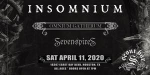Insomnium - show has been rescheduled for Thur June 17, 2021