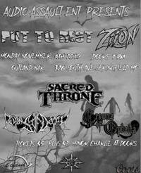 Put To Rest/Ziion/Ruins Of Decay/Sacred Throne/Crowns Of Ophelia