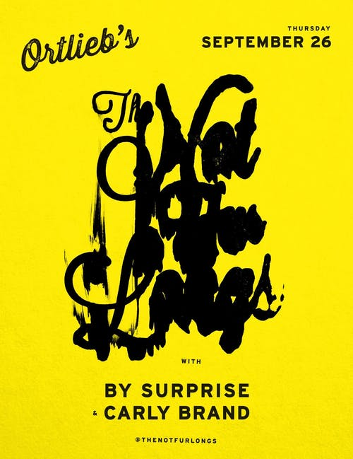 The Not Fur Longs / By Surprise / Carly Brand