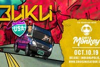 Dirt Monkey & Buku at Old National Centre