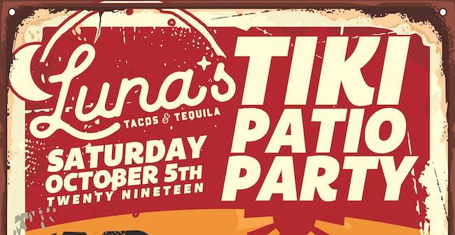 Luna's Tiki Patio Party
