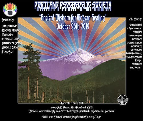 Portland Psychedelic Conference 2019