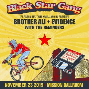 Black Star Gang AT MISSION BALLROOM