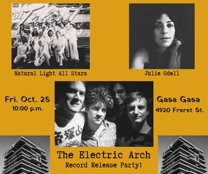 Electric Arch Release Show w/ Julie Odell and Natural Light All Stars